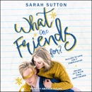 What Are Friends For? MP3 Audiobook