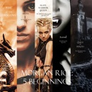 Morgan Rice: 5 Beginnings (Turned, Arena one, A Quest of Heroes, Rise of the Dragons, and Slave, Warrior, Queen) MP3 Audiobook