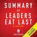 Summary of Leaders Eat Last by Simon Sinek: Includes Analysis (Unabridged) MP3 Audiobook