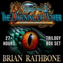 The Dawning of Power: Epic fantasy trilogy box set filled with magic and adventure MP3 Audiobook