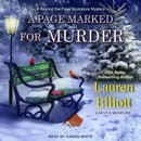 A Page Marked For Murder MP3 Audiobook