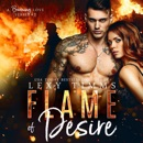 Flame of Desire: A Firefighter Steamy Romance (A Burning Love Series, Book 2) (Unabridged) MP3 Audiobook
