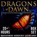 Dragons of Dawn: Trilogy of Fantasy Prequels with a Steampunk Twist MP3 Audiobook