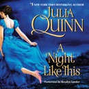 A Night Like This MP3 Audiobook