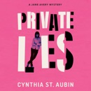 Private Lies: Jane Avery Mysteries (Unabridged) MP3 Audiobook