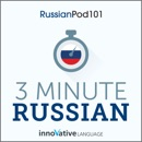 3-Minute Russian: 25 Lesson Series (Unabridged) MP3 Audiobook