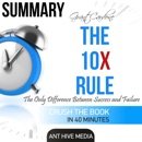 Summary Grant Cardone's The 10X Rule: The Only Difference Between Success and Failure (Unabridged) MP3 Audiobook