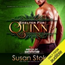 Shelter for Quinn: Badge of Honor - Texas Heroes, Book 13 (Unabridged) MP3 Audiobook