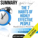 Summary of Steven R. Covey's The 7 Habits of Highly Effective People: Powerful Lessons in Personal Change (Unabridged) MP3 Audiobook