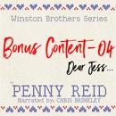 Winston Brothers Bonus Content - 04: Dear Jess MP3 Audiobook