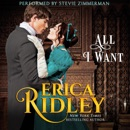 All I Want: A Regency Romance Short Story (Dukes of War, Book 8) (Unabridged) MP3 Audiobook
