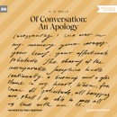 Of Conversation: An Apology (Unabridged) MP3 Audiobook