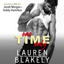 One Time Only (Unabridged) MP3 Audiobook
