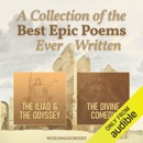 A Collection of the Best Epic Poems Ever Written: The Iliad & The Odyssey, and The Divine Comedy (Unabridged) MP3 Audiobook