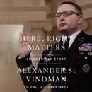 Here, Right Matters listen, audioBook reviews, mp3 download