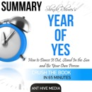 Summary: Shonda Rhimes' Year of Yes: How to Dance It Out, Stand in the Sun and Be Your Own Person (Unabridged) MP3 Audiobook