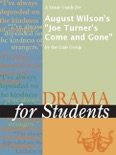 """A Study Guide for August Wilson's """"Joe Turner's Come and Gone"""" book summary, reviews and downlod"""