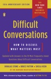 Difficult Conversations book summary, reviews and download