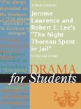 """A Study Guide for Jerome Lawrence and Robert E. Lee's """"The Night Thoreau Spent in Jail"""" book summary, reviews and downlod"""