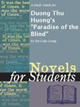 """A Study Guide for Duong Thu Huong's """"Paradise of the Blind"""" book summary, reviews and downlod"""
