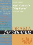 """A Study Guide for Noel Coward's """"Hay Fever"""" book summary, reviews and downlod"""