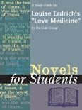"""A Study Guide for Louise Erdrich's """"Love Medicine"""" book summary, reviews and downlod"""