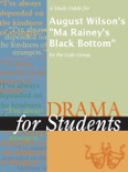 """A Study Guide for August Wilson's """"Ma Rainey's Black Bottom"""" book summary, reviews and downlod"""