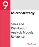 Sales and Distribution Analysis Module Reference for MicroStrategy 9.2.1 book summary, reviews and download