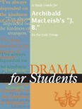 """A Study Guide for Archibald MacLeish's """"J. B."""" book summary, reviews and download"""