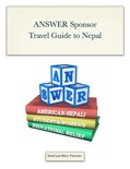 ANSWER Sponsor Travel Guide to Nepal book summary, reviews and download