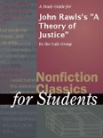 """A Study Guide for John Rawls's """"A Theory of Justice"""" book summary, reviews and downlod"""