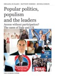 Popular politics, populismand the leaders book summary, reviews and download