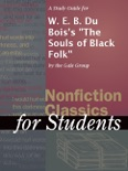"""A Study Guide for W. E. B. Du Bois's """"The Souls of Black Folk"""" book summary, reviews and download"""