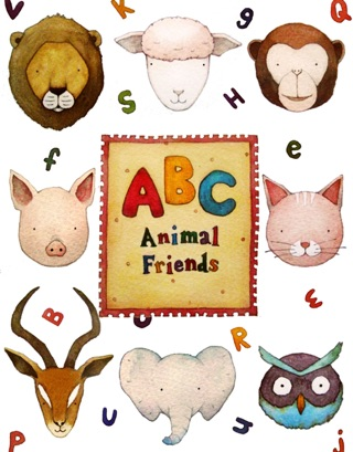 ABC Animal Friends : Alphabet book for kids by BUDCANE INC book summary, reviews and downlod