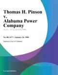 Thomas H. Pinson v. Alabama Power Company book summary, reviews and downlod