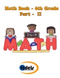Math Book Sixth Grade Part II book summary, reviews and downlod