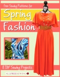Free Sewing Patterns for Spring Fashion: 8 DIY Sewing Projects book summary, reviews and download