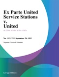 09/24/93 Ex Parte United Service Stations V. United book summary, reviews and downlod