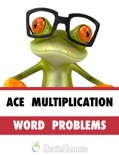 Ace Multiplication Word Problems book summary, reviews and downlod