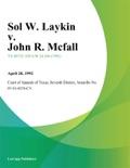 Sol W. Laykin v. John R. Mcfall book summary, reviews and downlod