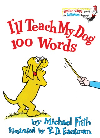 I'll Teach My Dog 100 Words by Michael Frith E-Book Download