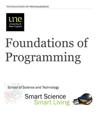 Foundations of Programming by Dr David Miron E-Book Download