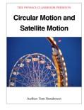 Circular Motion and Satellite Motion
