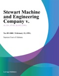 Stewart Machine and Engineering Company v. book summary, reviews and downlod