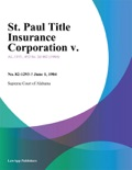 St. Paul Title Insurance Corporation v. book summary, reviews and downlod