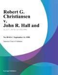 Robert G. Christiansen v. John R. Hall and book summary, reviews and downlod