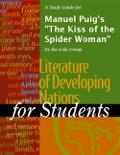 """A Study Guide for Manuel Puig's """"The Kiss of the Spider Woman"""" book summary, reviews and downlod"""