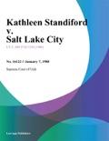 Kathleen Standiford v. Salt Lake City book summary, reviews and downlod