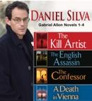 Daniel Silva GABRIEL ALLON Novels 1-4 book summary, reviews and downlod