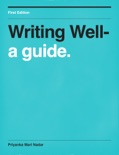 Writing Well- book summary, reviews and download